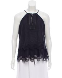 Thakoon - Lace-trimmed Sleeveless Top W/ Tags - Lyst