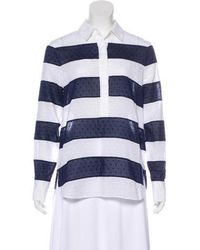 Jenni Kayne - Striped Long Sleeve Top - Lyst