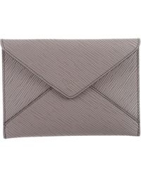 Louis Vuitton - Epi Invitation Envelope Grey - Lyst