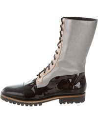 Rodarte - 2015 Lace-up Combat Boots W/ Tags - Lyst