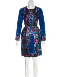 Erdem - Embroidered A-line Dress Multicolor - Lyst
