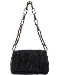 Dior - Cannage Small Delidior Flap Bag Black - Lyst
