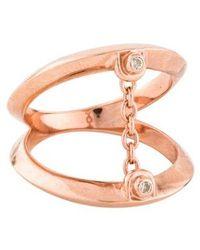 Pamela Love - Topaz Suspension Ring Rose - Lyst