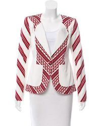 Thakoon - Printed Button-up Jacket - Lyst