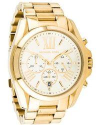 888c1cf798b0 Lyst - Michael Kors Bradshaw Watch in Metallic