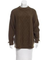 VEDA - Angler Wool Sweater W/ Tags Olive - Lyst