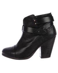Rag & Bone - Harrow Leather Ankle Boots - Lyst