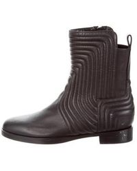 Pierre Hardy - Quilted Leather Ankle Boots Black - Lyst