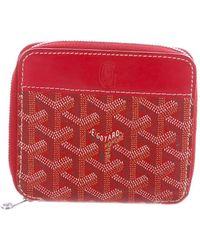 Goyard - Ine Compact Zip Wallet - Lyst