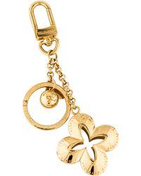 Louis Vuitton - Fleur D'epi Bag Charm Gold - Lyst