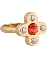 Louis Vuitton - Love Letters Timeless Ring Gold - Lyst