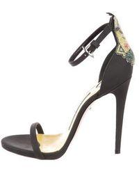 Ruthie Davis - Minions Ankle Strap Sandals - Lyst