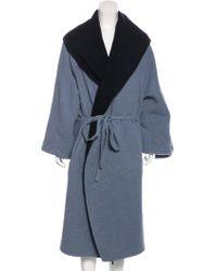 Rosetta Getty - Cashmere Oversize Coat W/ Tags - Lyst