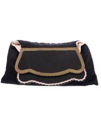John Galliano - Silk Embellished Cltch Black - Lyst