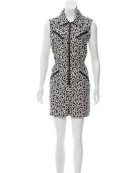 Anna Sui - Sleeveless Printed Romper - Lyst