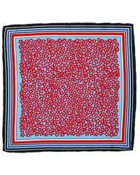 Diane von Furstenberg - Printed Silk Scarf W/ Tags - Lyst