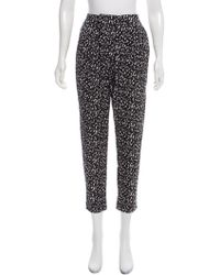 Zimmermann - Printed High-rise Pants - Lyst
