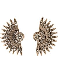 Lulu Frost - Faux Pearl Tulia Stud Earrings Gold - Lyst