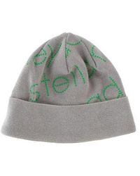 adidas By Stella McCartney - Knit Logo Beanie Grey - Lyst