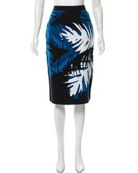 Timo Weiland - Floral Knit Skirt - Lyst