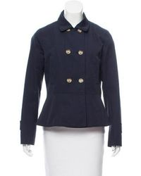 MAX&Co. - Collared Double-breasted Jacket - Lyst