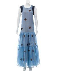 Natasha Zinko - Sleeveless Silk Gown - Lyst