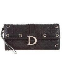Dior - Python Clutch Bag Black - Lyst