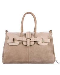 Golden Goose Deluxe Brand - Nubuck Boston Bag Khaki - Lyst
