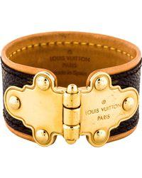 Louis Vuitton - Save It Bracelet Gold - Lyst