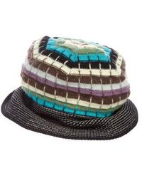 Lyst - Missoni Multicolor Bucket Hat in Yellow 2761b4a431ae