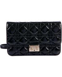 Dior - Miss Promenade Pouch Bag Black - Lyst