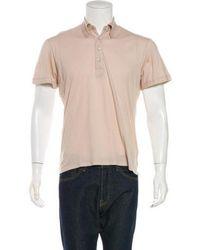 Jil Sander - Polo Shirt Tan - Lyst