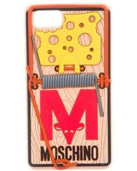 Moschino - Rat-a-porter Mousetrap Iphone 6s/7 Phone Case Beige - Lyst