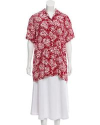 Ports 1961 - Floral Button Up Top - Lyst