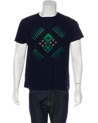 Christopher Kane - Woven Graphic T-shirt - Lyst