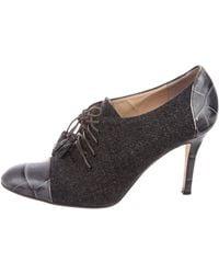 Kate Spade - Wool Round-toe Booties Wool - Lyst