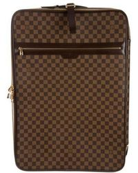 Louis Vuitton - Damier Ebene Pégase 65 Brown - Lyst