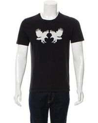 Dior Homme - 2005 Double Eagle Graphic T-shirt - Lyst
