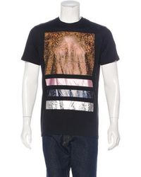 Christopher Kane - Metallic Graphic Print T-shirt - Lyst