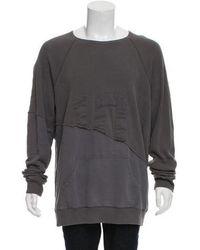 Greg Lauren - Hero Long Sleeve T-shirt W/ Tags Grey - Lyst
