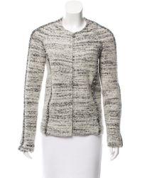 Isabel Marant - Bouclé Knit Jacket - Lyst