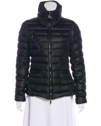 Lyst Moncler Chabarrou Down Jacket Grey in Natural