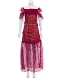 91a859582b1e8 Self-Portrait - Sleeveless Evening Dress W/ Tags - Lyst