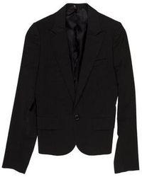 Dior Homme - Peite Taille Striped Cropped Wool Blazer - Lyst