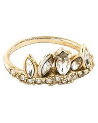 Alexis Bittar - Miss Havisham Jagged Marquis Ring Gold - Lyst