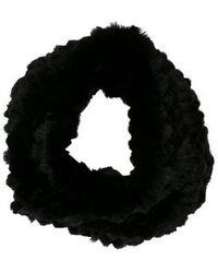 Helmut Lang - Fur Knit Snood - Lyst