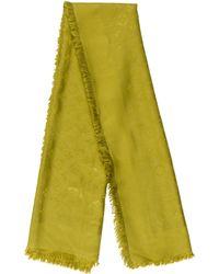 Louis Vuitton - Monogram Shawl Lime - Lyst