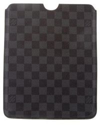 Louis Vuitton - Damier Graphite Ipad Case - Lyst