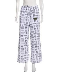 Alexander Wang - Graphic Lounge Pants - Lyst