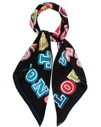 Louis Vuitton - Great Adventures Giant Square Silk Scarf - Lyst